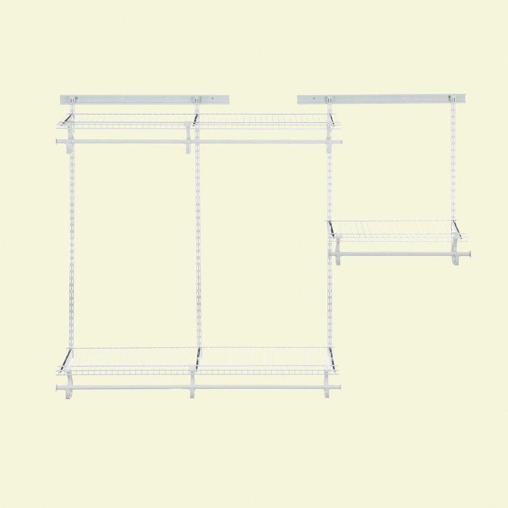 ClosetMaid ShelfTrack 4 Ft. To 6 Ft. Closet Organizer Kit