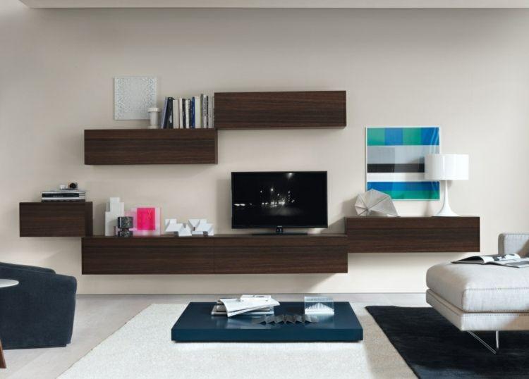 Wohnzimmer Schrankwände ~ Die besten moderne schrankwände ideen auf