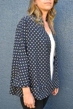 Tokyo Jacket Pattern - Patterns - Tessuti Fabrics - Online Fabric Store - Cotton, Linen, Silk, Bridal & more