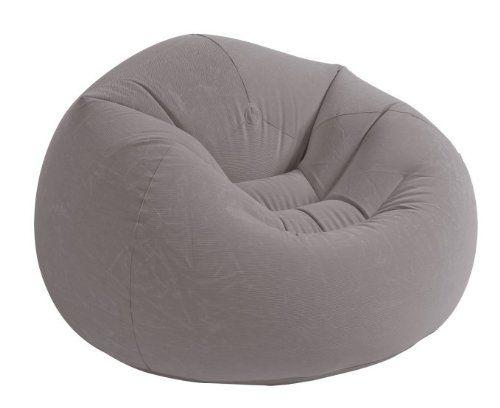 Intex Recreation Beanless Bag Chair, Beigep