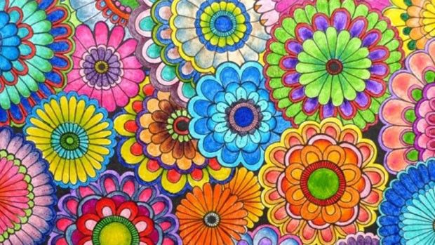 Adult Coloring Books: Color Your Stress Away