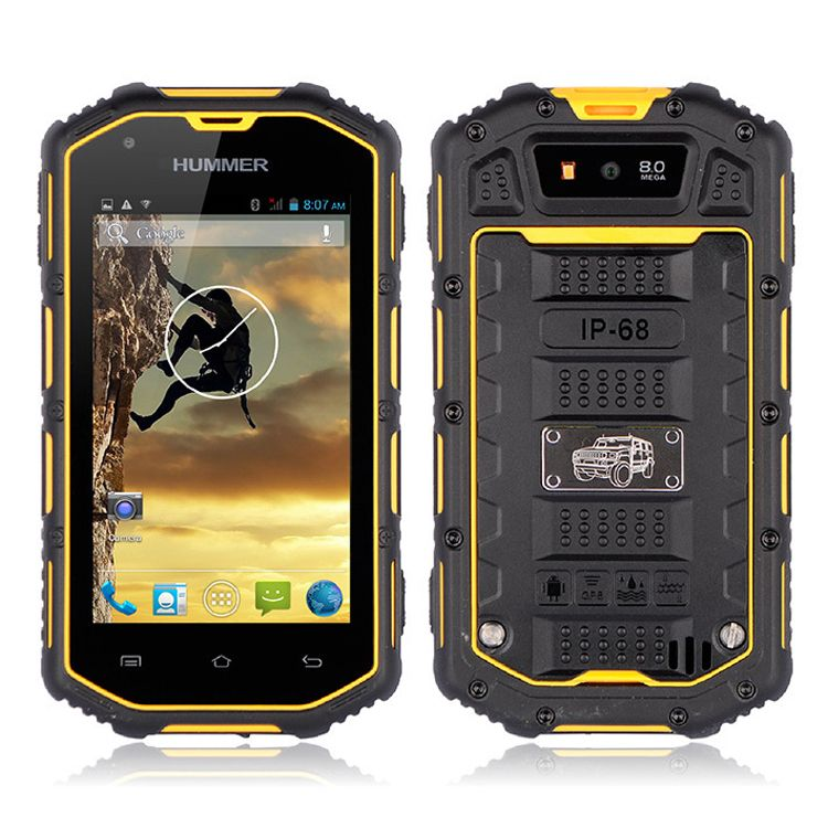 Hummer H5 3g Smartphone 4 0 Touch Screen Ip67 Waterproof