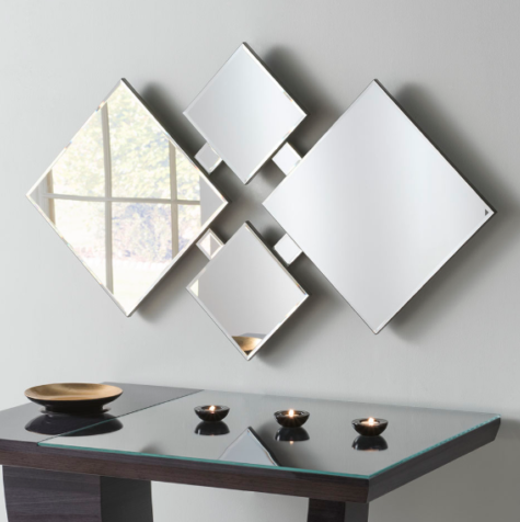 Art Deco Bridport Mirror Scape Interiors West Ltd Art Deco Mirror Mirror Wall Art Deco Glass