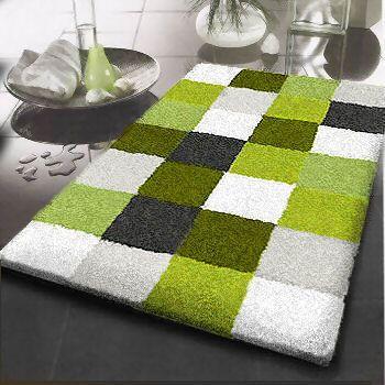 bold bathroom rug | green bath rugs, green bathroom, green