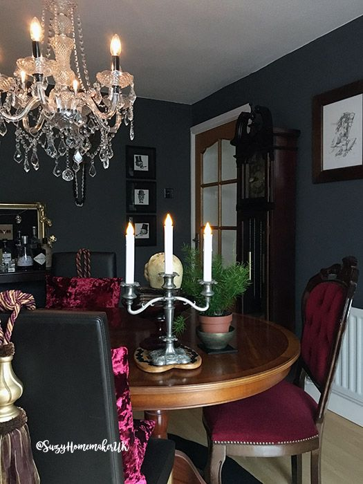 A Victorian Gothic Dining Room Makeover Dining Room Victorian