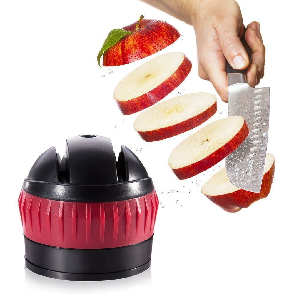 Lyess Portable Small Safety Multifunctional Convenient Household Kme Knife Sharpener To View Further For This Ite Knife Sharpening Household Home Appliances
