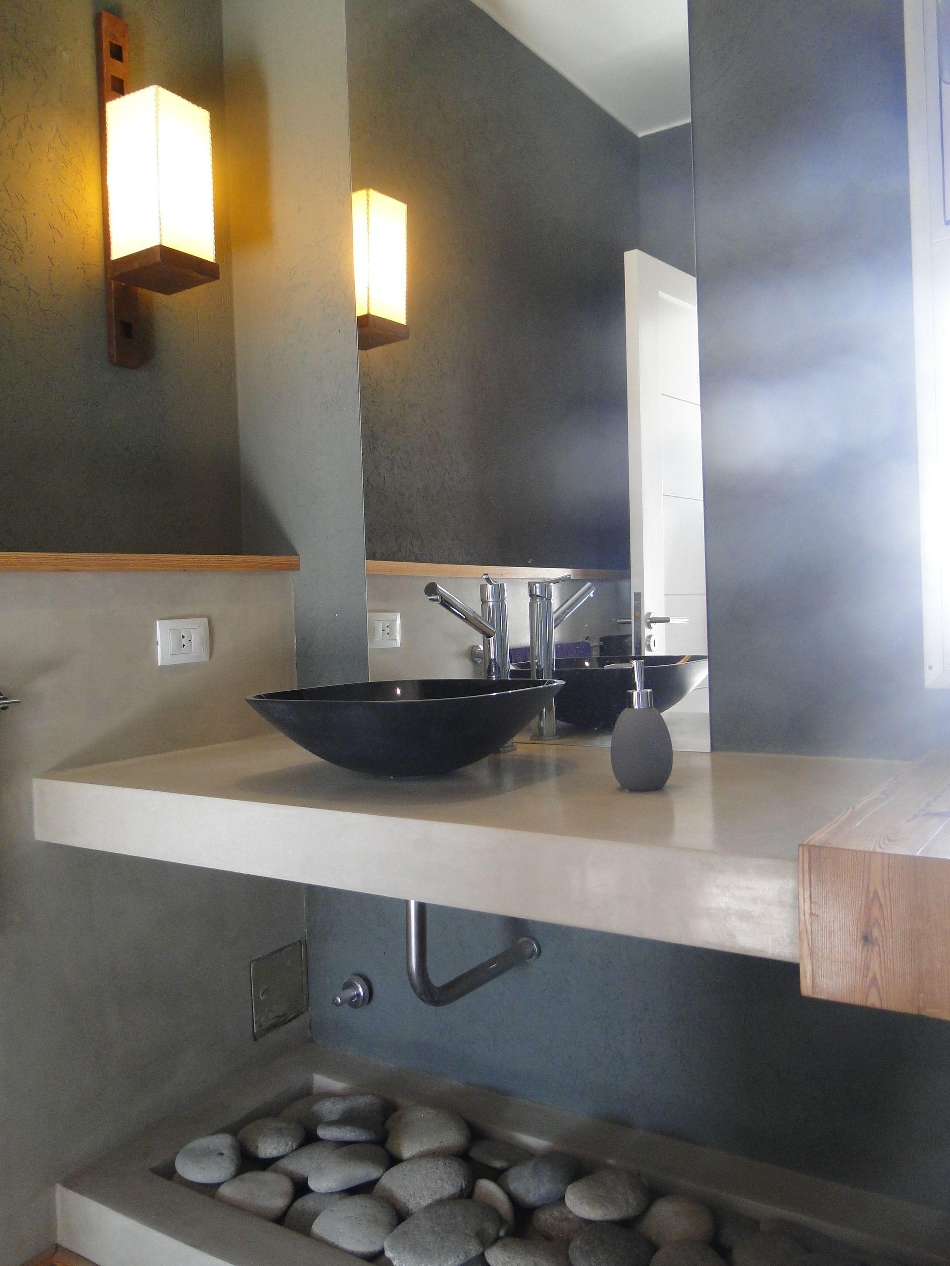 Toilette Mesada Microcemento Bano Microcemento Muebles De Bano