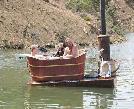 Check out this Floating Hot Tub! #hottub #spa | For Fun | Pinterest ...