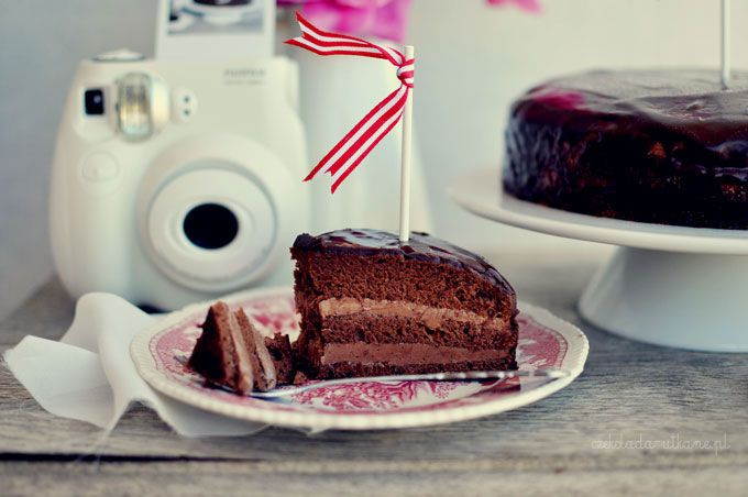 Czekoladowy tort Praga