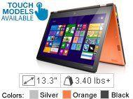 Lenovo Yoga 2 13 Multitouch 59408077 Clementine Orange 4th Generation Intel Core I5 4200u 1 60ghz 1600mhz 3mb Lenovo Http Lenovo Ideapad Lenovo Tablet