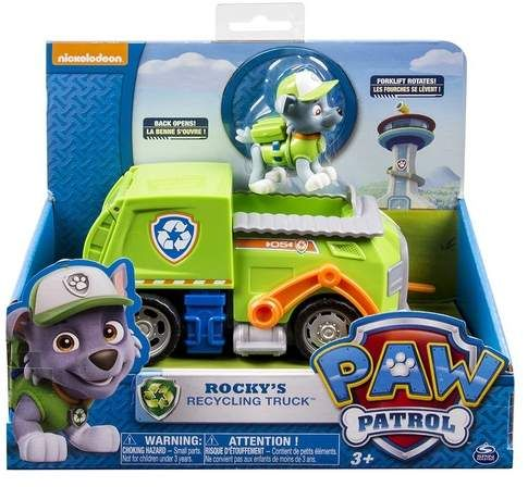 Spin Master   Paw Patrol  Rocky Recycling Dump Truck - Paw patrol rocky, Paw patrol vehicles, Paw patrol toys, Paw patrol nickelodeon, Paw patrol, Paw - Spin Master  Paw Patrol  Rocky Recycling Dump Truck  Free Shipping on orders over $100