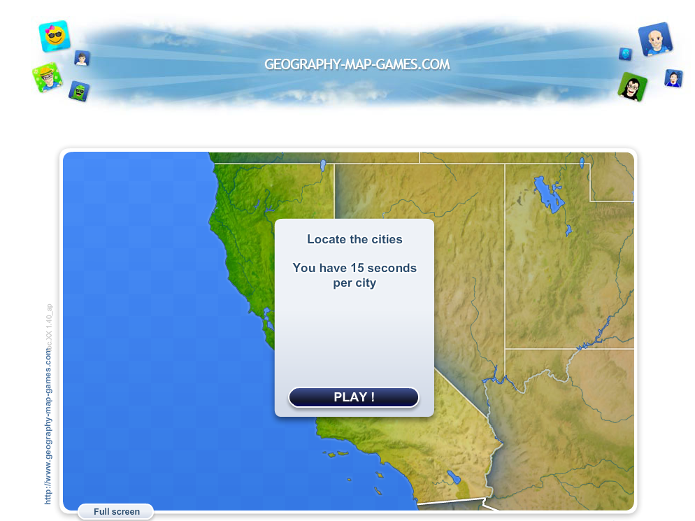wwwgeographymapgamescom Improve your Geography knowledges