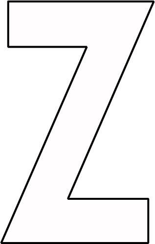 kleurplaat letter z kleurplaten letteren