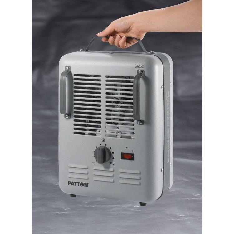 Electric Utility Heater Adjustable Thermostat Portable Heat Garage Job Workshop Patton Painting Bathroom Interior Paint Neutral Interior Paint Colors