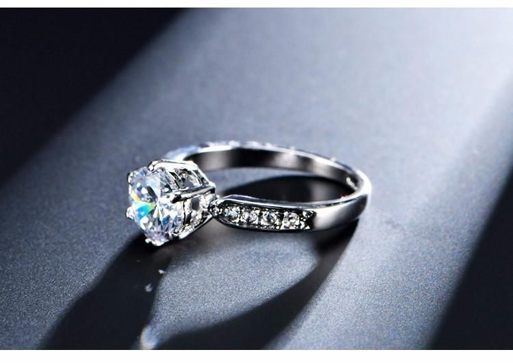 Details about  /1.75Ct Round Cut Diamond 14K White Gold Over Engagement Wedding Bridal Ring Set