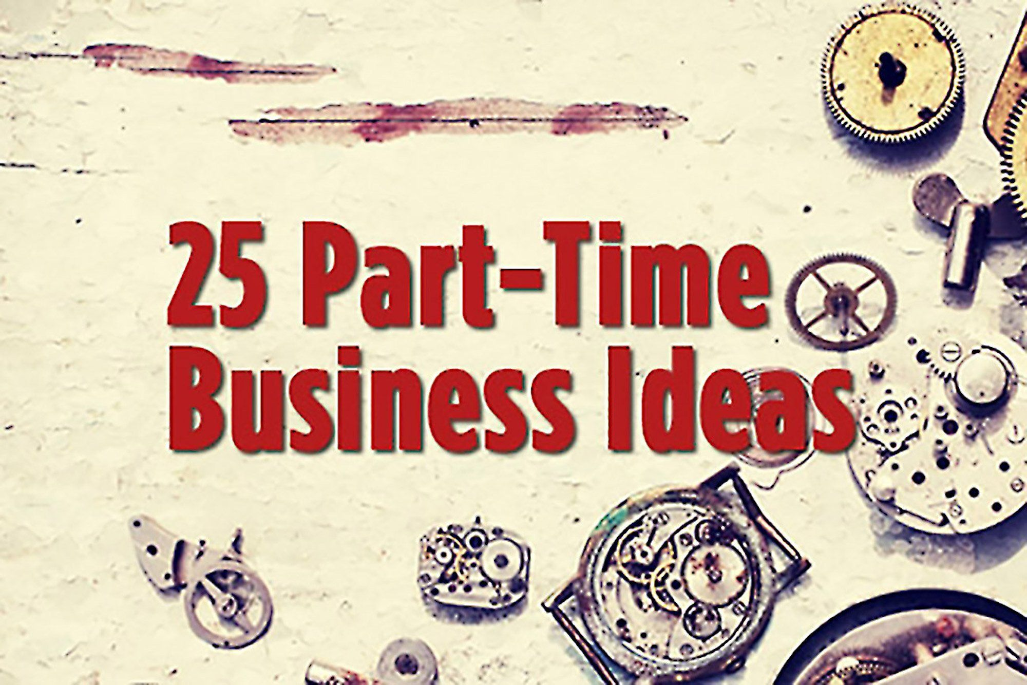 Doing Business As (DBA) Part time business ideas