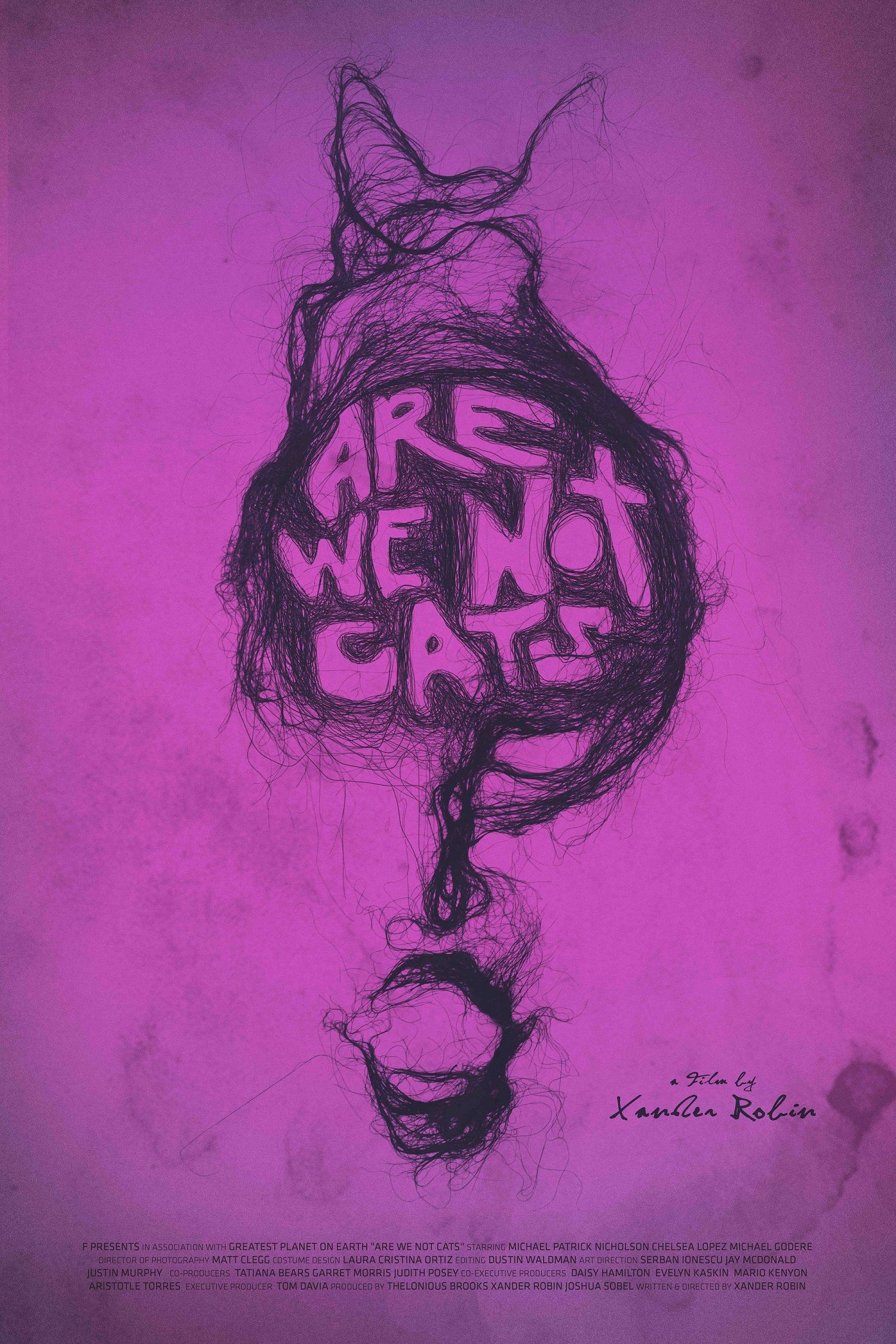 Things get hairy in the Are We Not Cats trailer Live for