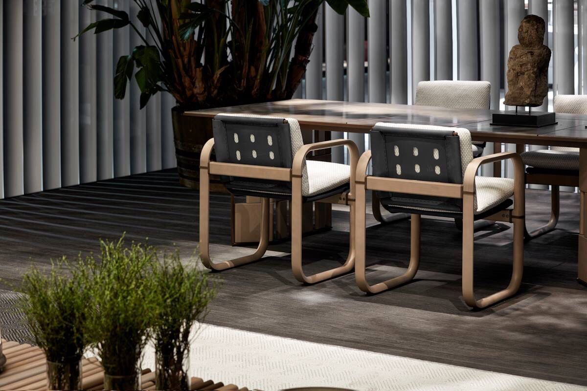 Spa Swivel dining chairs, Furniture design