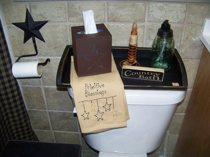 Add A Primitive Flair To Your Bathroom With This Primitive