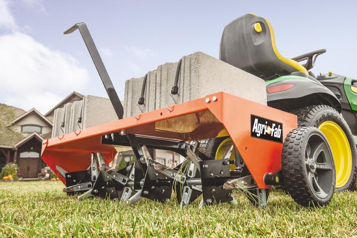 Agrifab 450299 48inch tow plug aerator