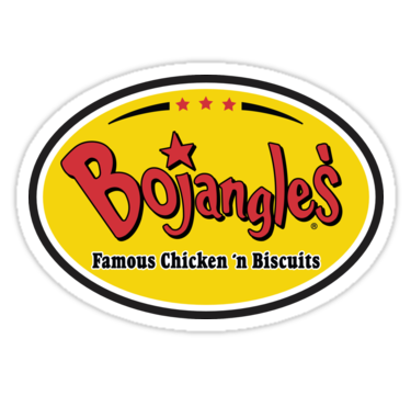Bojangles Famous Chicken N Biscuits Stickers By Broken Concrete Redbubble Chicken And Biscuits Broken Concrete Concrete