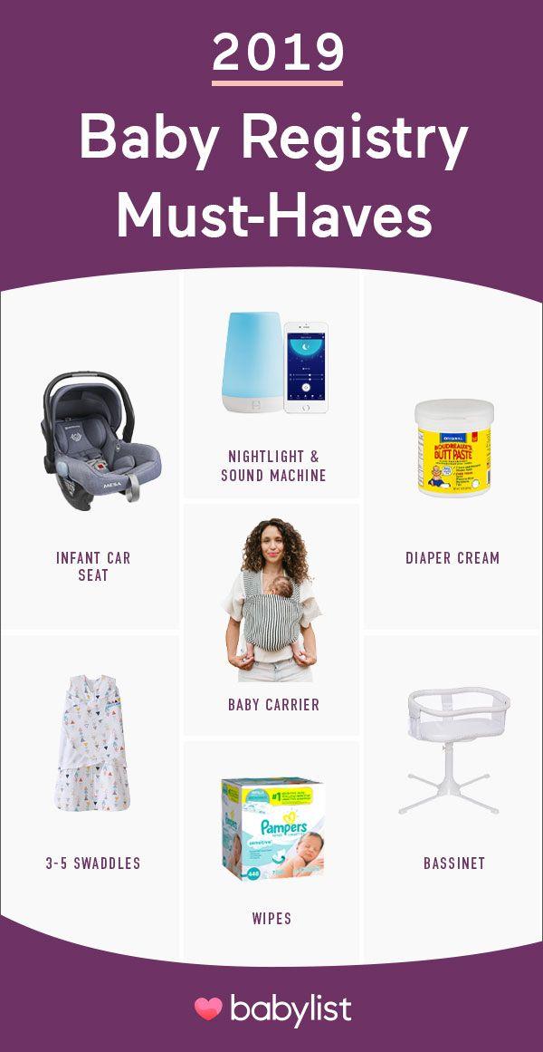 2020 Baby Registry Must-Haves | Baby registry must haves ...
