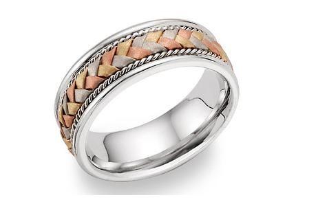 Wedding Ring3 Crossing Bands Ecc 412 States