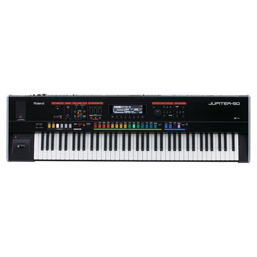 With its unprecedented fusion of synthesis and acoustic instruments the new-generation Roland JUPITER has changed the way we play react to and feel a keyboard. By combining the supreme expression of t