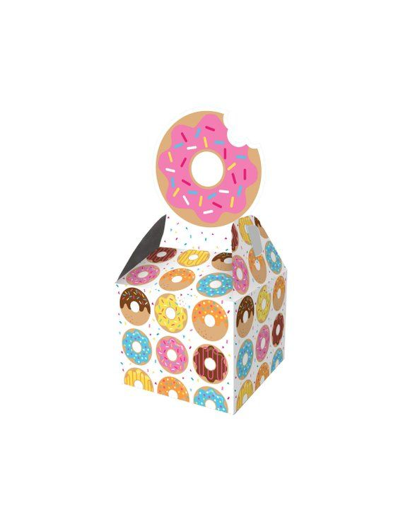 Donut Favor Boxes