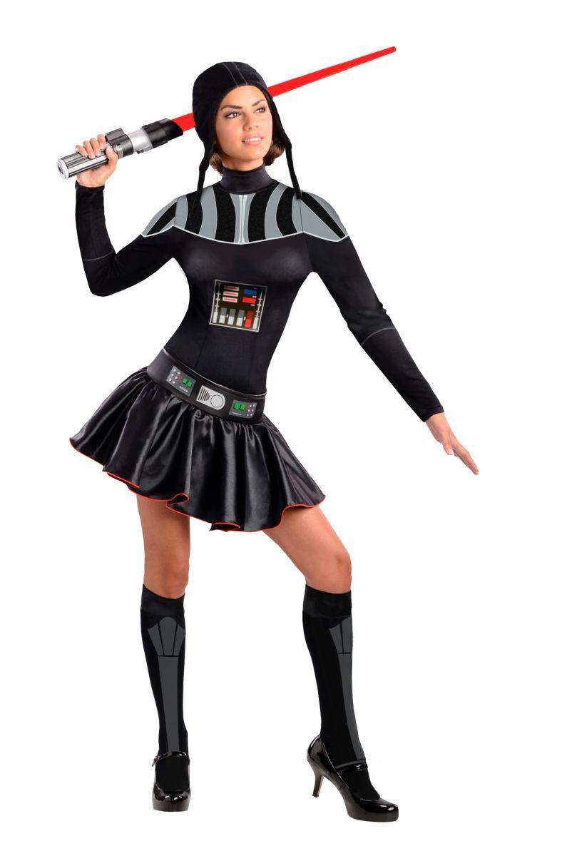 Photo of Female Darth Vader Costume – Medium (6-10)