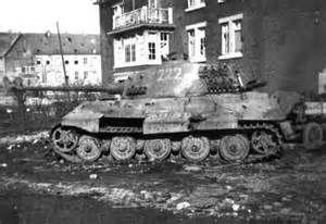 King Tiger Tank Battle Damage - Bing Images | Military AFV's