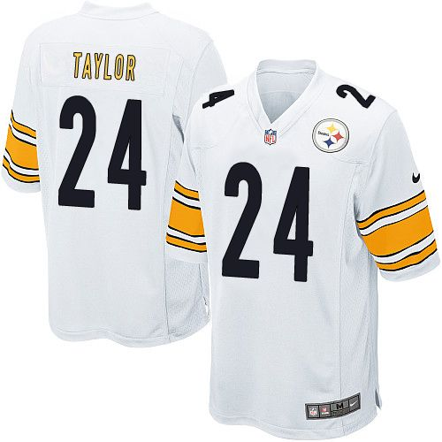 reputable site 1d4ad 0c8c5 usa nike pittsburgh steelers 26 rod woodson 1933 yellow ...