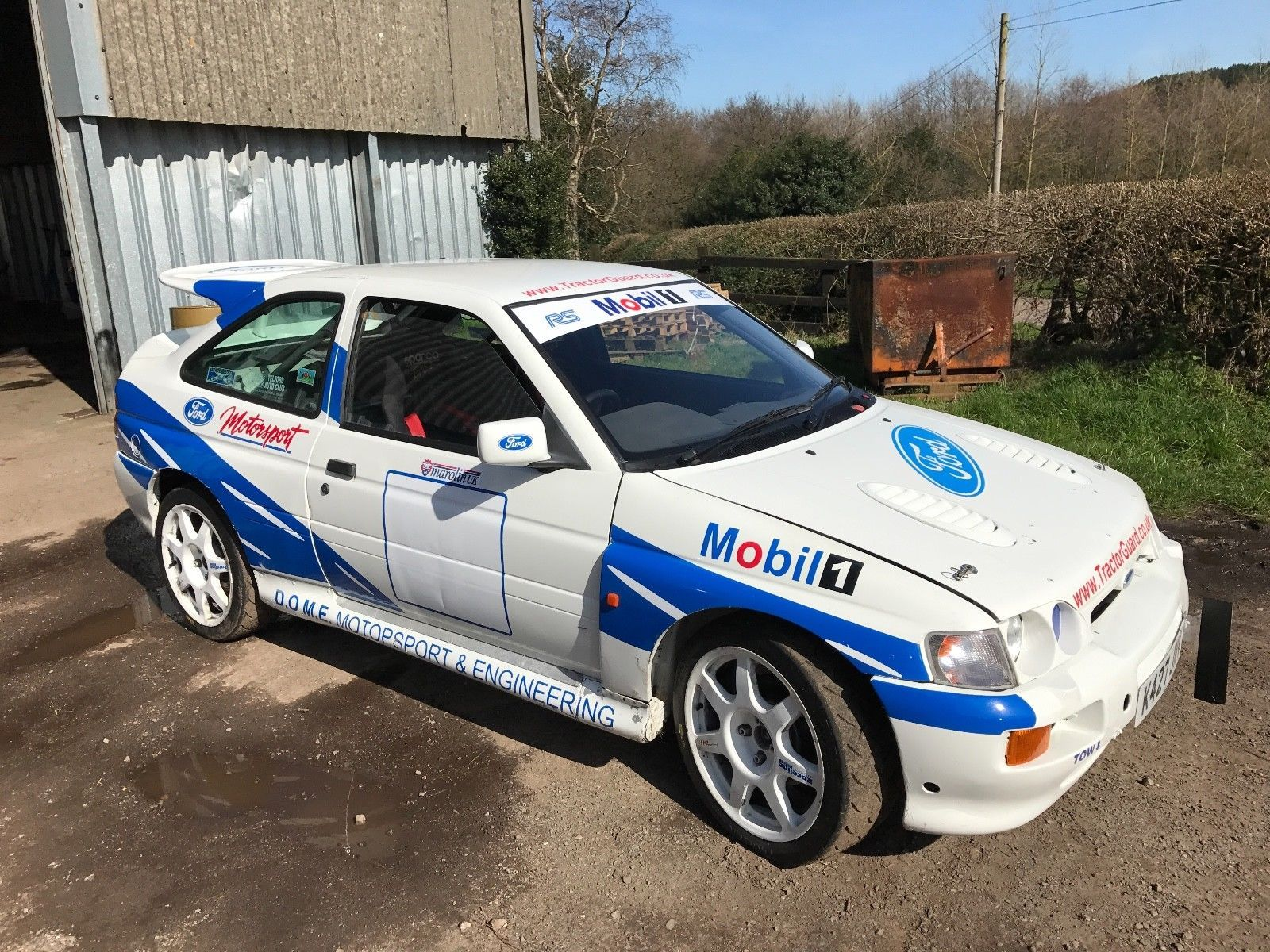 Ford Escort RS Cosworth Rally Car | Ford escort, Rally car and Rally