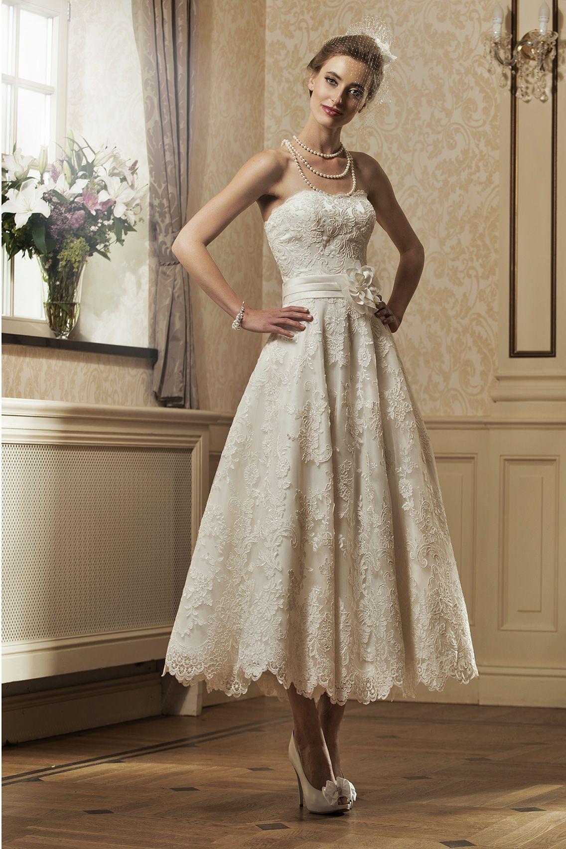 Wedding dresses tea length  Pin by natalie palibroda on wedding dresses  Pinterest  Wedding