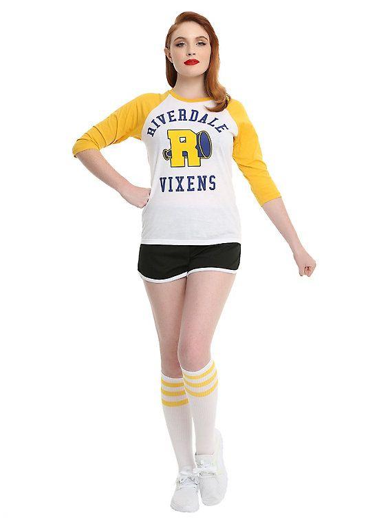 Cheerleader Costume Vixens Veronica Betty Cheryl Cosplay Fancy Dress Riverdale