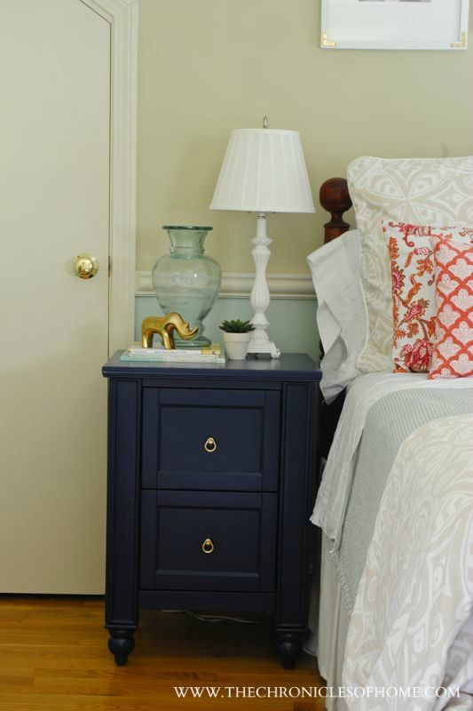 Navy Blue Nightstand Blue Nightstands Blue Furniture Home