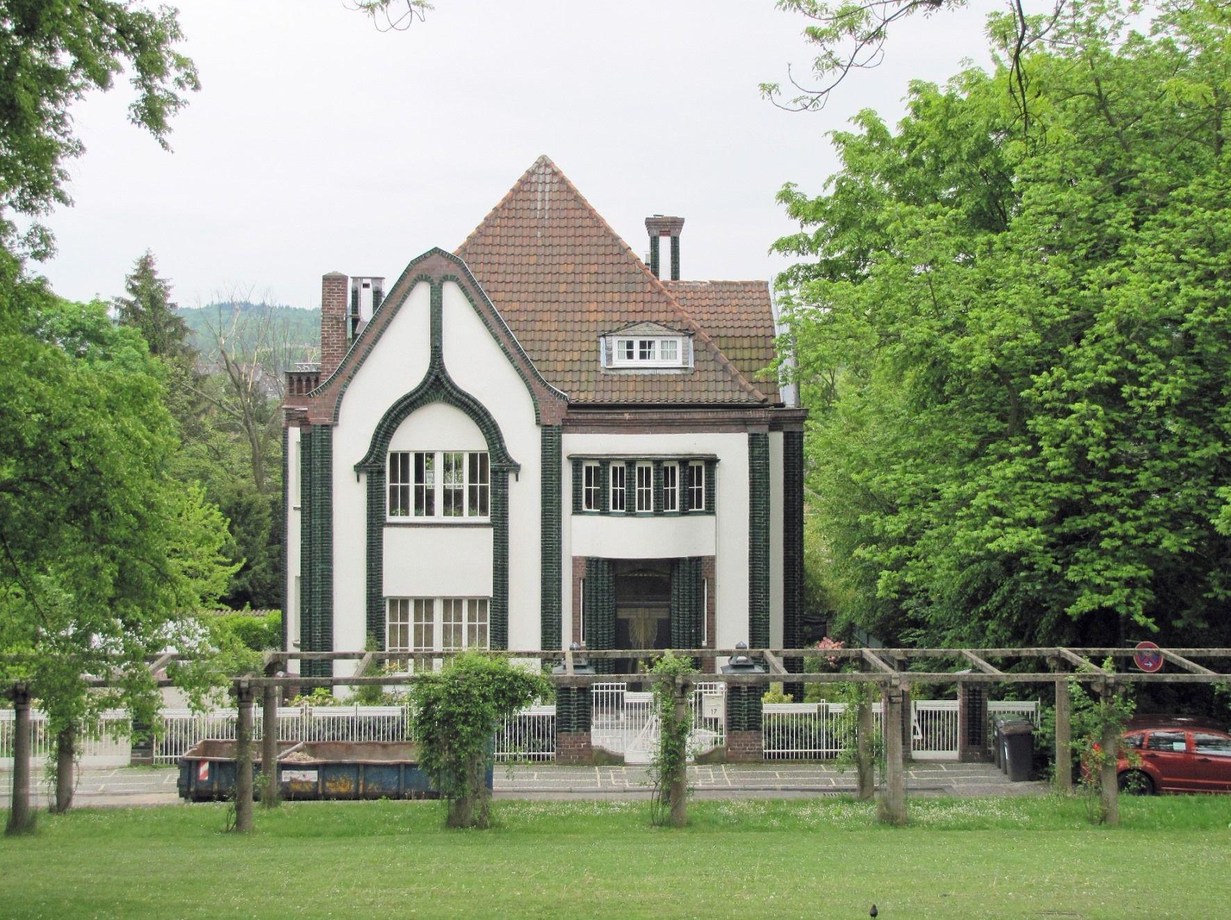 Peter Behrens Behrens house at 'Mathildenhoehe' in