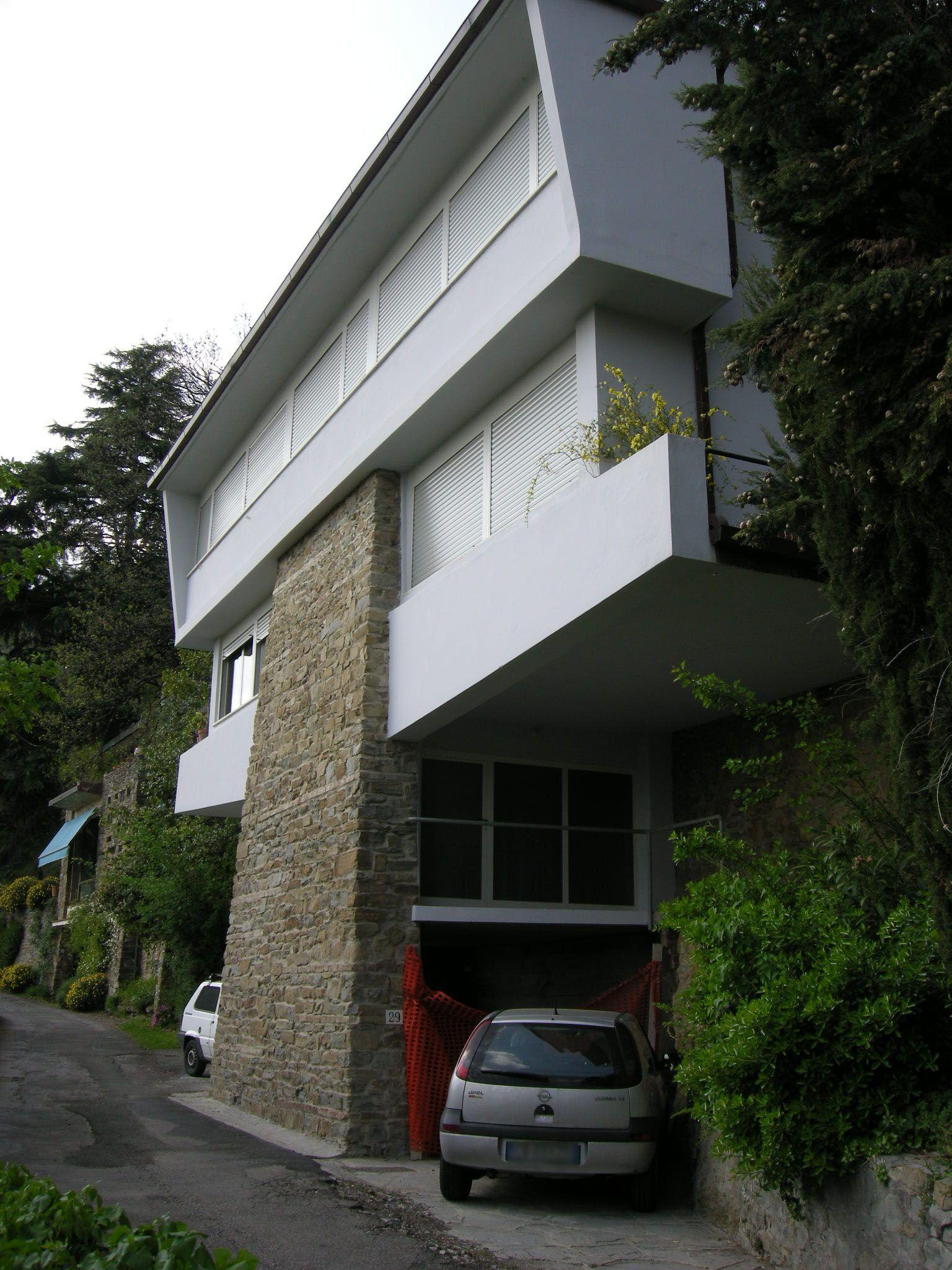 Leonardo ricci complesso di monterinaldi 3 architettura leonardo ricci 1918 1994 - Ricci casa milano ...