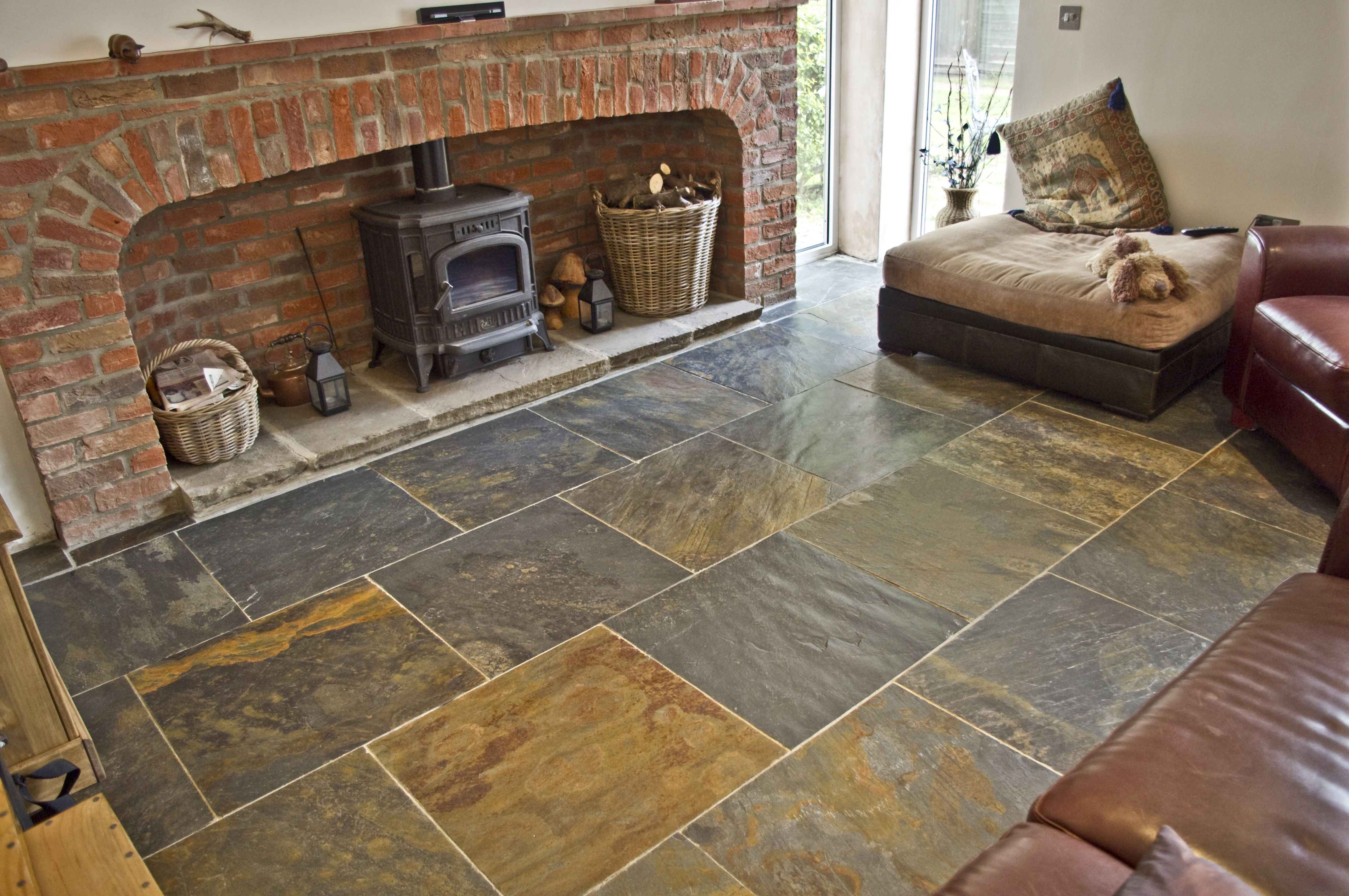 Look no further than our assortment of majestic tiles. Rustic Copper Riven Slate Tiles 600x600 Natural Slate Tiles Slate Floor Wall Tiles 60x60 Slate Tiles Supplier Rustic Flooring Flooring Modern Flooring