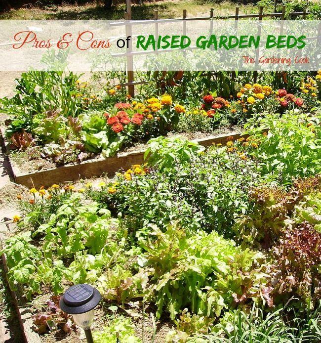 Small Raised Garden: Raised Garden Beds Make Vegetable Gardening Easier On The