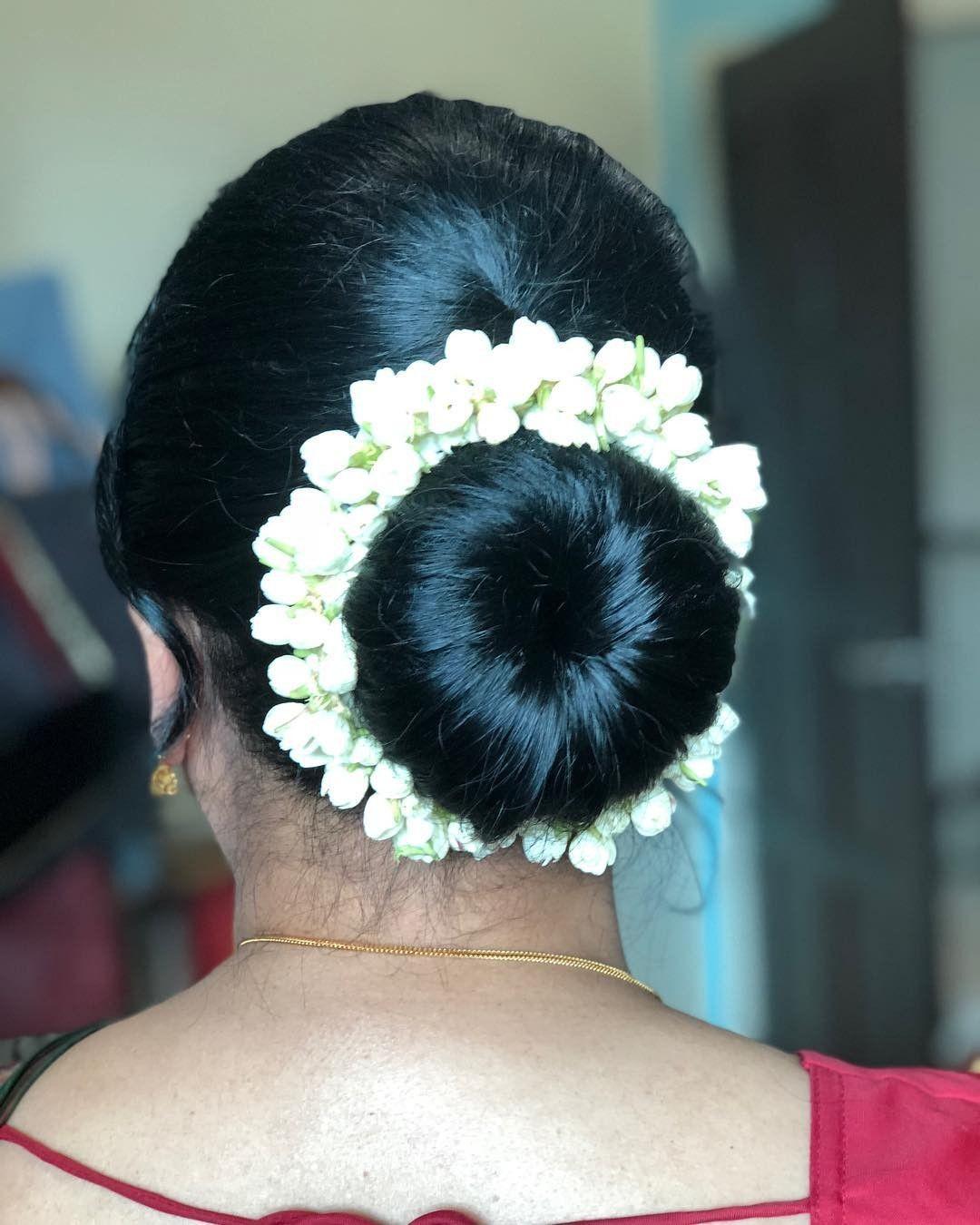 Pin by komala on Hair | Wedding hair clips, Bun hairstyles, Bridal hair buns