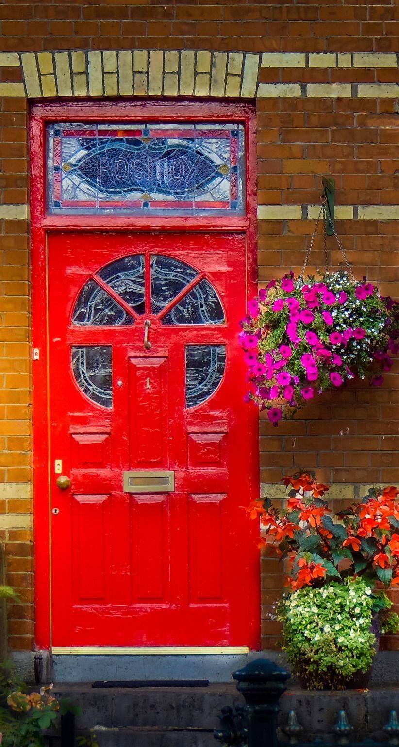 Limerick County Limerick Ireland Red Door Painted Doors Cool Doors