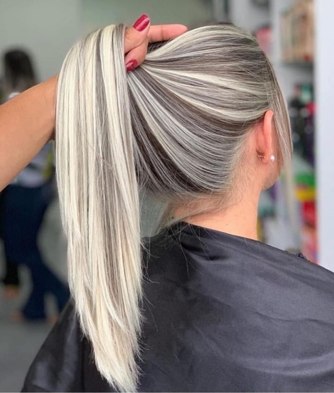 Yes or no ?? hairstylehairstyle Cool hair color