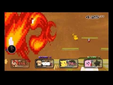 SSF2 Mod #4 Golden Battlefield (Melee) | Super Smash Flash 2