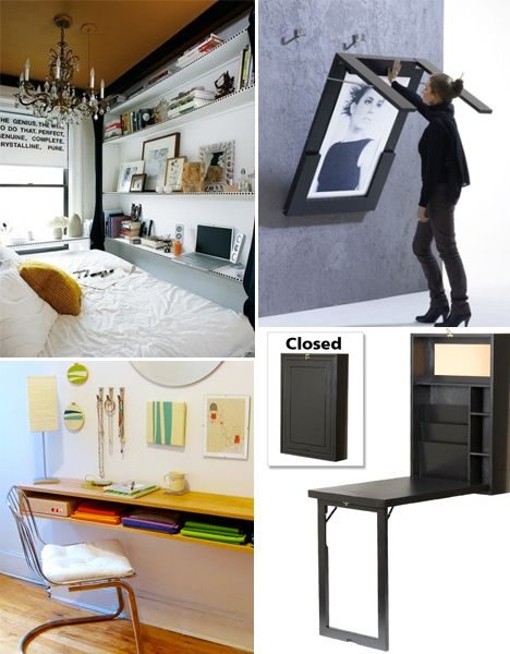 Small Space Hacks: 24 Tricks for Living in Tiny Apartments | Small ...