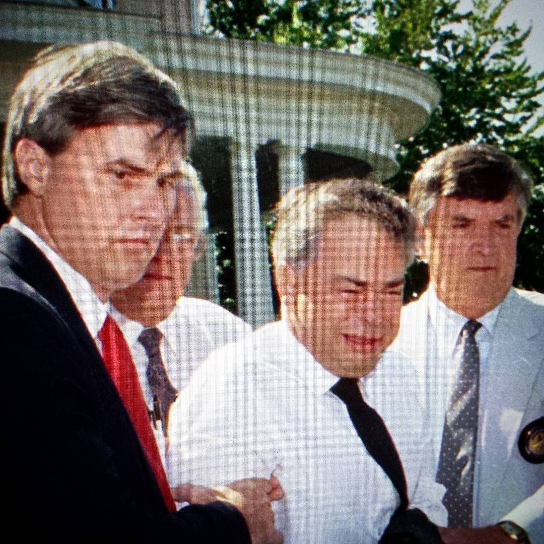 Jim Bakker Gets Busted: On March 19th of 1987, Televangelist Jim Bakker is forced to resign as chairman of his PTL ministry amid a scandal involving rape charges leveled by a former church secretary, Jessica Hahn. During the trail's investigation and media circus, Bakker was found guilty of fraud and conspiracy charges. He was sentenced to 45 years in federal prison. He only served five years before being released on parole. Today he continues his successful evangelical ministry to morons…