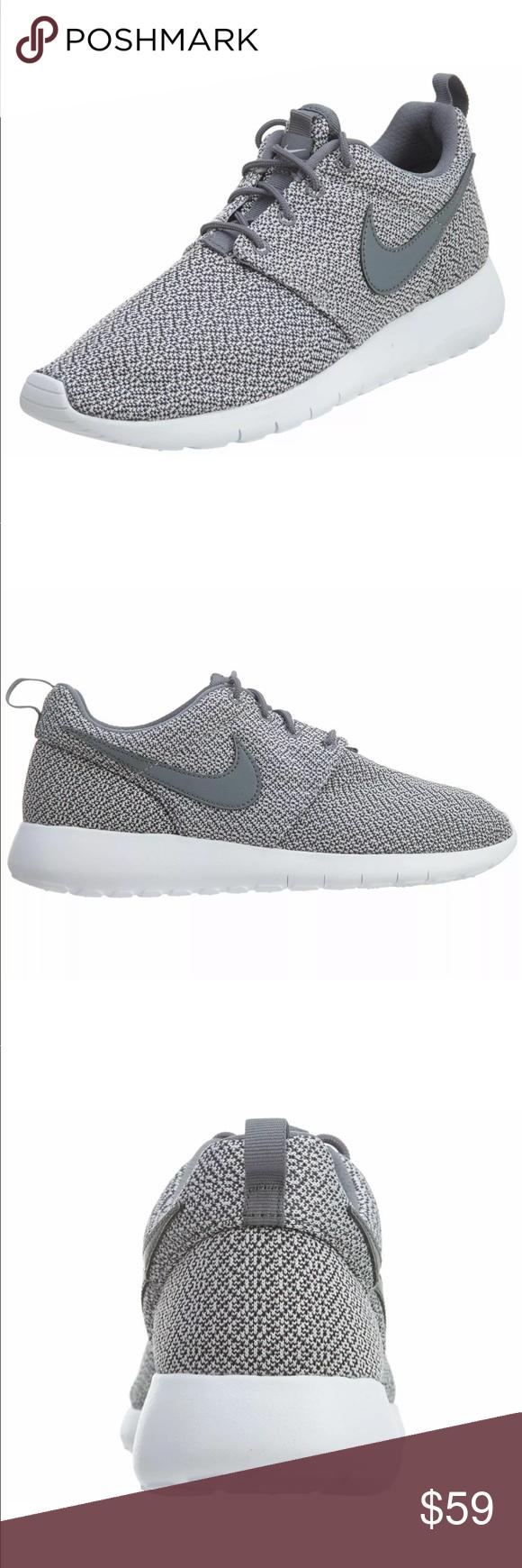 Nike Roshe Women S Running Shoes Grey White Nike Roshe Women Running Shoes Grey Roshes