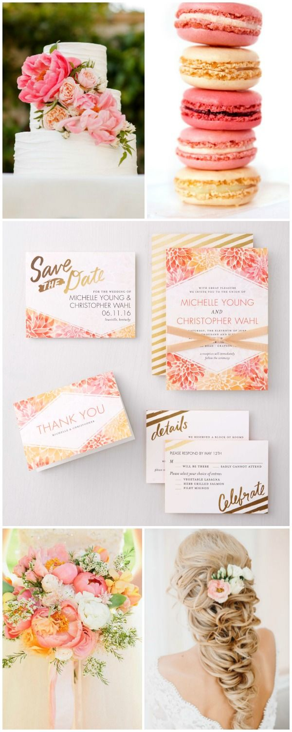 Summer Wedding inspiration! Invites by @weddingpaper | Dream Wedding ...
