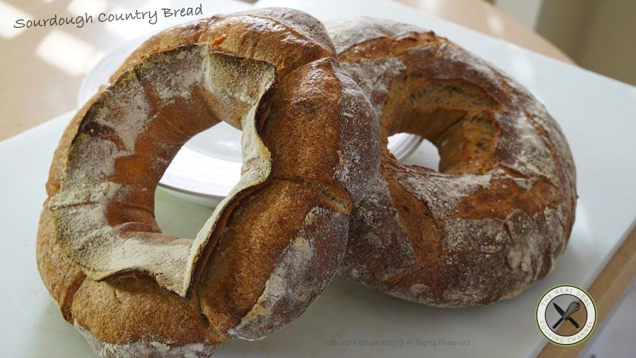 Sourdough Country Bread /4K - Bruno Albouze - THE REAL ...