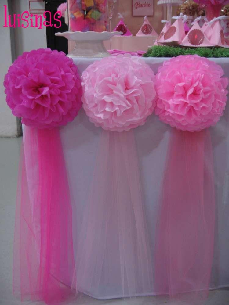 Barbie Birthday Party Ideas | Pinterest | Mesa de golosinas ...